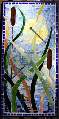 dragonfly,dragonflies,marsh,coast,insects,mosaic,stained glass
